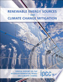 Renewable Energy Sources and Climate Change Mitigation Book
