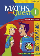 Cover of Maths Quest 1 for Queensland Homework