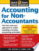 """""""Accounting for Non-accountants: The Fast and Easy Way to Learn the Basics"""" by Wayne Label"""