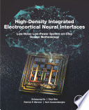 High-Density Integrated Electrocortical Neural Interfaces