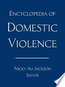 Encyclopedia Of Domestic Violence