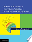 Cover of Numerical Solution of Elliptic and Parabolic Partial Differential Equations with CD-ROM