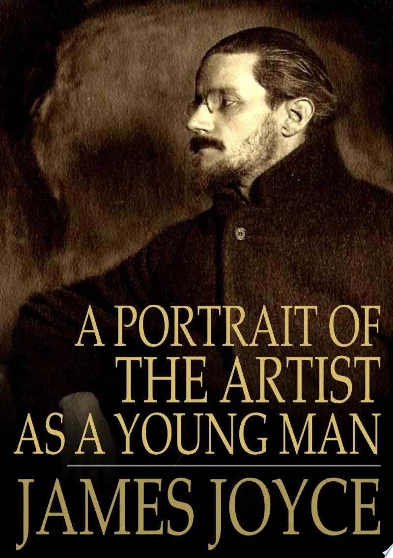 A Portrait of the Artist as a Young Man banner backdrop