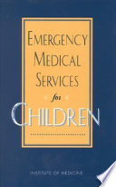 Emergency Medical Services for Children Book