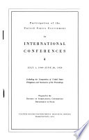 International Organization and Conference Series I IV