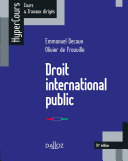 Pdf Droit international public Telecharger
