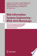 Web Information Systems Engineering - WISE 2010 Workshops