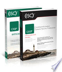 (ISC)2 CISSP Certified Information Systems Security Professional Official Study Guide & Practice Tests Bundle, 3e