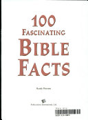 100 Fascinating Bible Facts