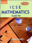Icse Mathematics For Class Viii