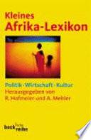 Kleines Afrika-Lexikon  : Politik, Wirtschaft, Kultur