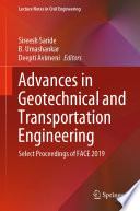 Advances in Geotechnical and Transportation Engineering Book