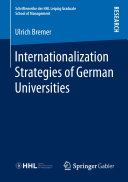 Internationalization Strategies of German Universities