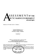 Assessment Of The Arctic Marine Environment Book PDF