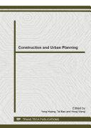 Construction and Urban Planning Pdf/ePub eBook