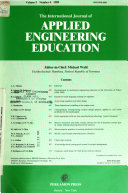 The International Journal of Applied Engineering Education Book