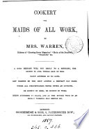 Cookery for maids of all work