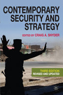 Contemporary Security and Strategy Pdf/ePub eBook