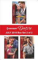 Harlequin Desire July 2018   Box Set 2 of 2