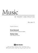 Music in Theory and Practice Book