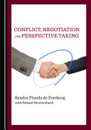 Conflict, Negotiation and Perspective Taking Pdf/ePub eBook