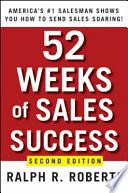 52 Weeks of Sales Success Book