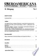 Iberoamericana  , Ausgaben 30-35