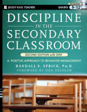 Discipline in the Secondary Classroom  with DVD