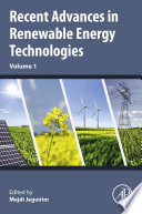 Recent Advances in Renewable Energy Technologies Book