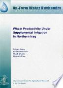 Wheat Productivity under Supplemental Irrigation in Northern Iraq