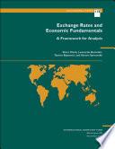 Exchange Rates and Economic Fundamentals