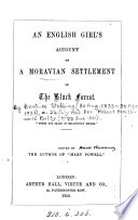 An English Girl s Account of a Moravian Settlement in the Black Forest