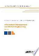 Information Management And Market Engineering Book PDF