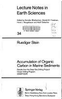 Accumulation of Organic Carbon in Marine Sediments