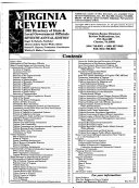 Virginia Review Directory of State and Local Government Officials