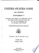 United States Code: General index