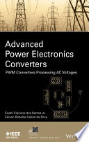 Advanced Power Electronics Converters Book