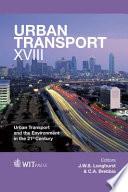 Urban Transport XVIII