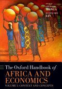 The Oxford Handbook of Africa and Economics Pdf/ePub eBook