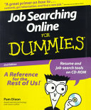 Job Searching Online For Dummies Book