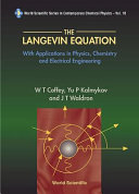 The Langevin Equation