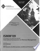 International Symposium on Memory Management