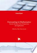 Forecasting in Mathematics