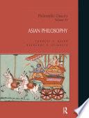 Philosophic Classics  Asian Philosophy  Volume VI