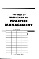 The Best Of Ross Clark On Practice Management Book PDF