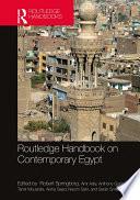 Routledge Handbook On Contemporary Egypt