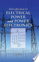 Introduction To Electrical Power And Power Electronics Book PDF