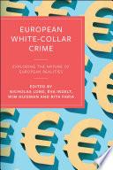 European White Collar Crime