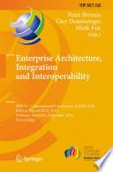 Enterprise Architecture  Integration and Interoperability