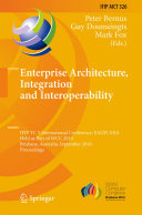Enterprise Architecture, Integration and Interoperability